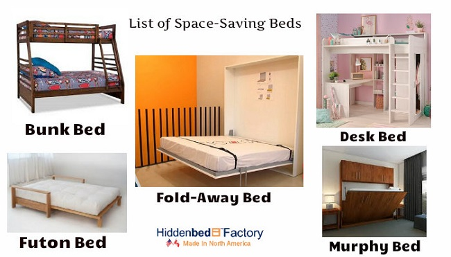 Magnificent A List Of Space Saving Beds For A Small Home Hiddenbed Factory Home Interior And Landscaping Mentranervesignezvosmurscom